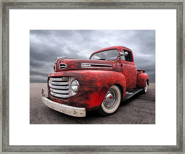 Rusty Jewel - 1948 Ford Framed Print