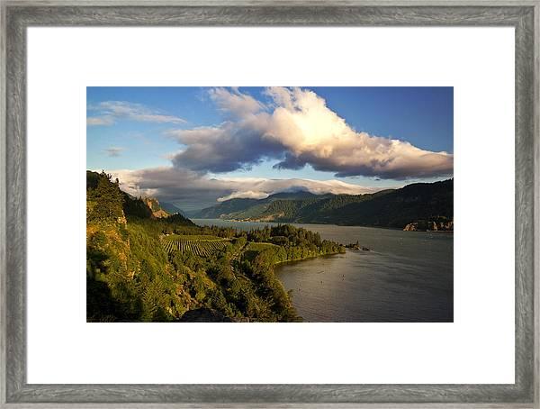 Ruthton Point Morning Framed Print