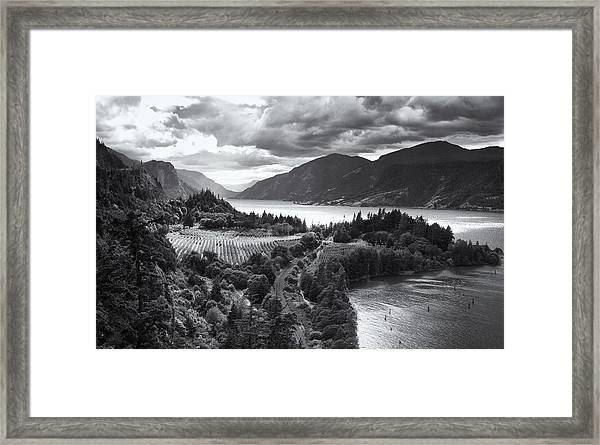 Ruthton Point Storm Framed Print
