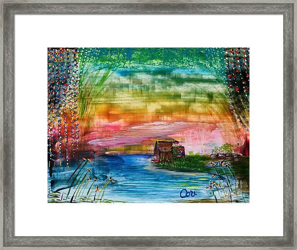 Rv Life Framed Print