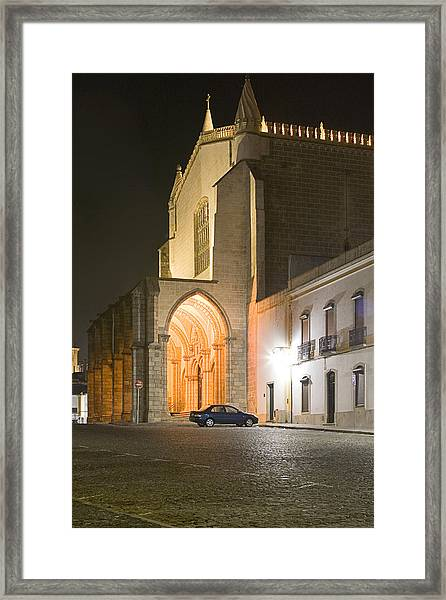 S. Francisco Church Framed Print by Andre Goncalves