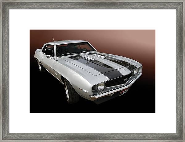 S S Camaro Framed Print