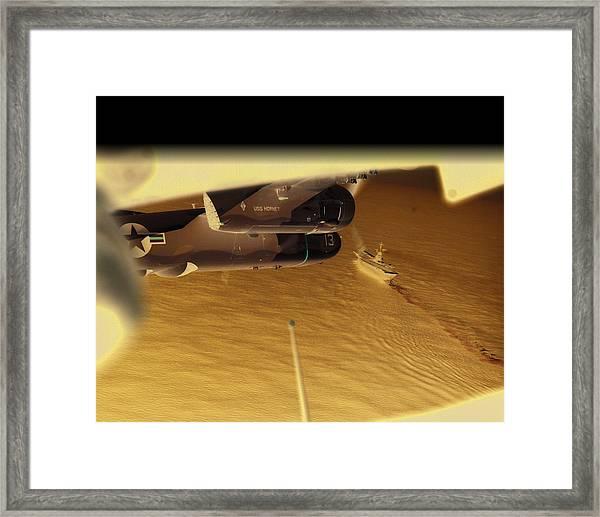 S2s In Delta Framed Print