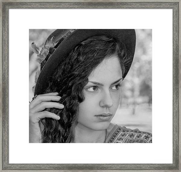 Sabrina Framed Print by James Woody