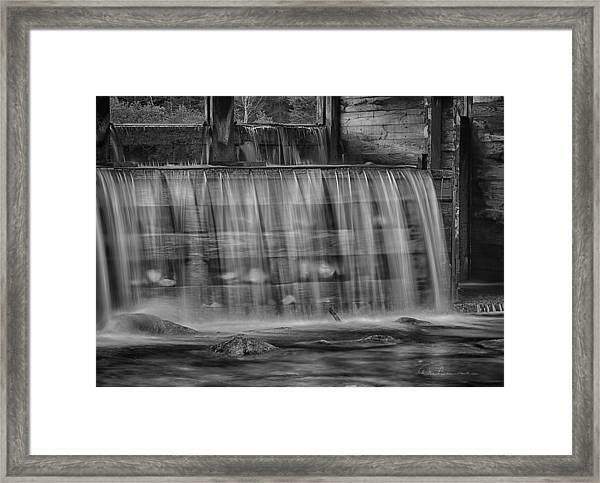 Saco River 6199 Framed Print
