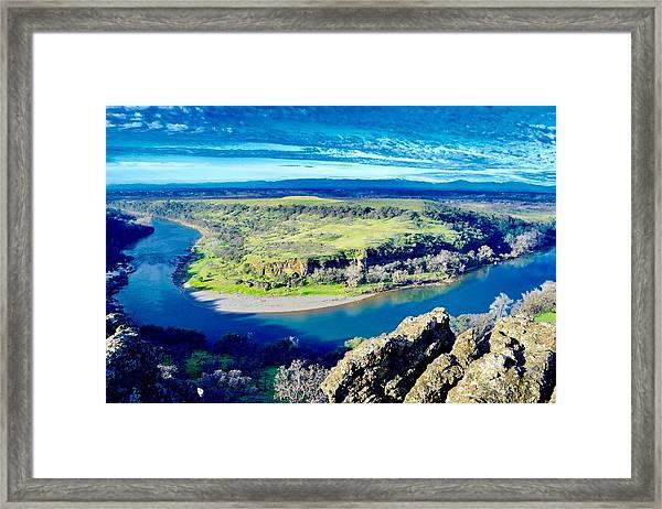 Sacramento River Framed Print