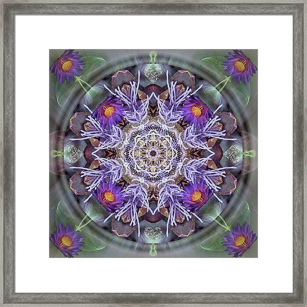Sacred Emergence Framed Print