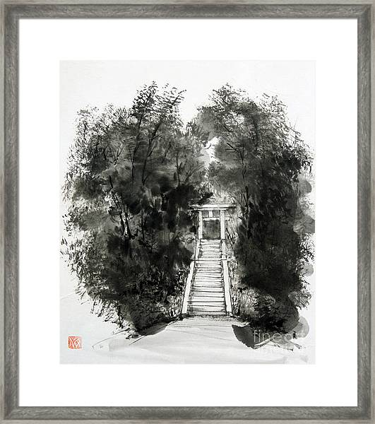 Sacred Gate  Framed Print