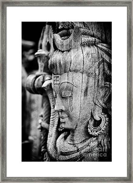 Sacred Lord Shiva Framed Print