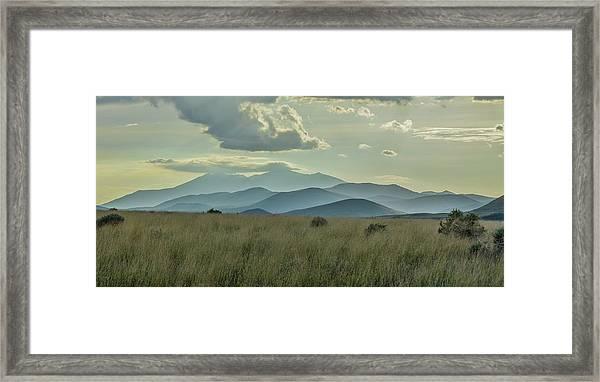Sacred Mountain Framed Print