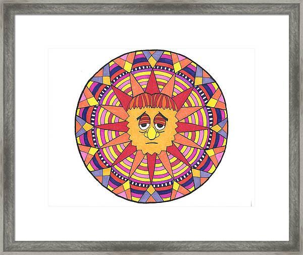 Sad Sunny Framed Print