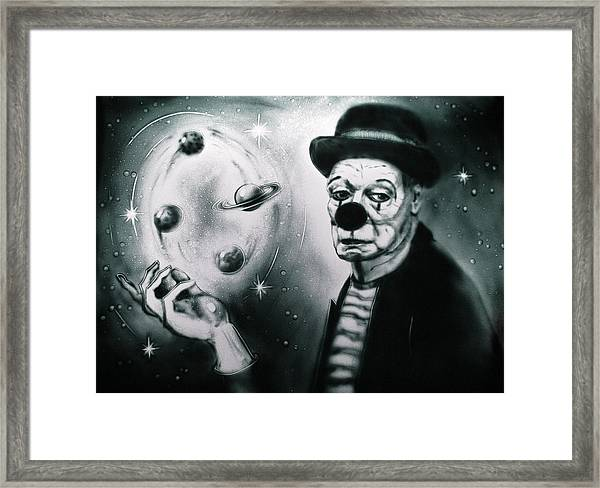 Sadness Of Creator Framed Print
