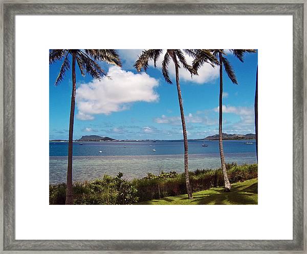 Safe Harbor Framed Print