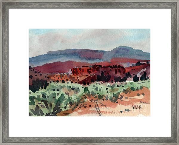 Sage Sand And Sierra Framed Print
