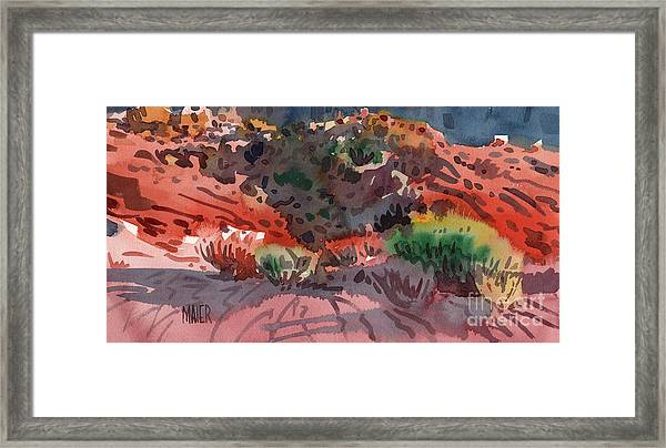 Sagebrush Framed Print