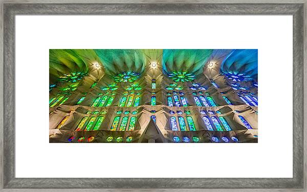 Sagrada Familia Northeast Wall Barcelona Framed Print