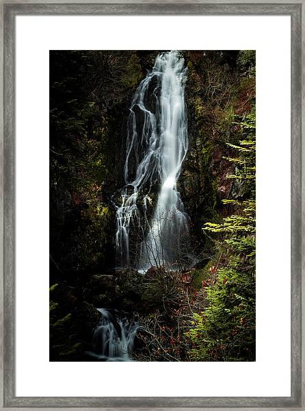 Sahale Falls Framed Print