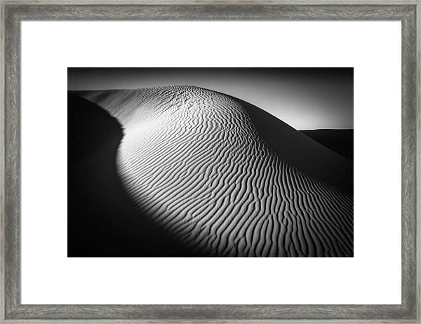 Sahara Dune Framed Print