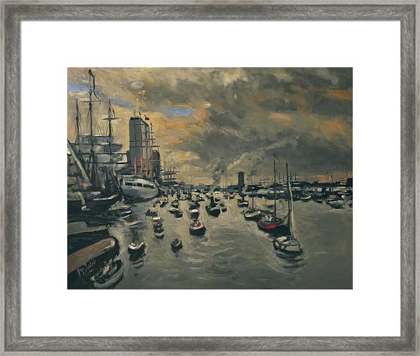 Sail Amsterdam 2015 Framed Print