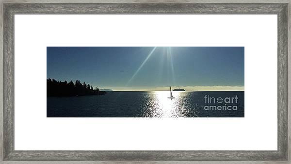 Sail Free Framed Print