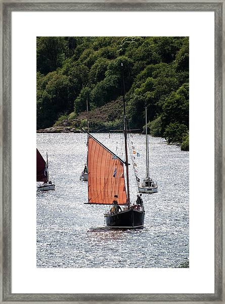 Sailing 46 Framed Print