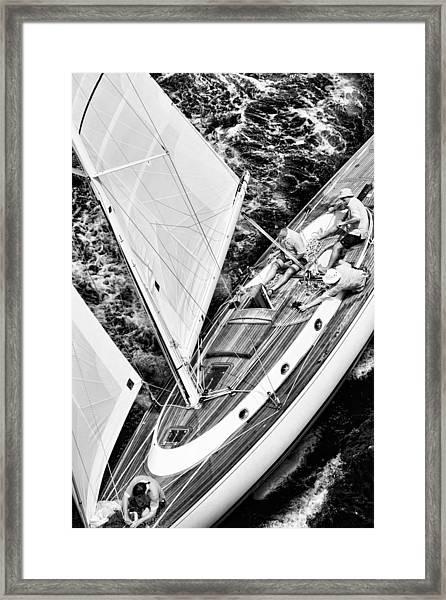 Sailing A Classic Framed Print