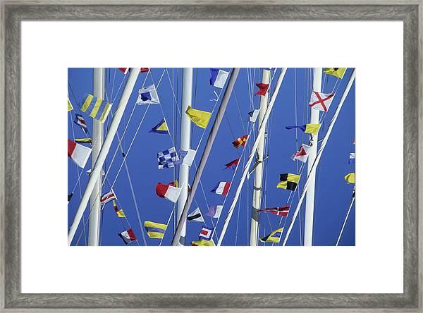 Sailing, General Framed Print