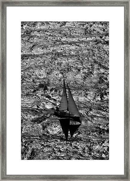 Sailing Home Framed Print