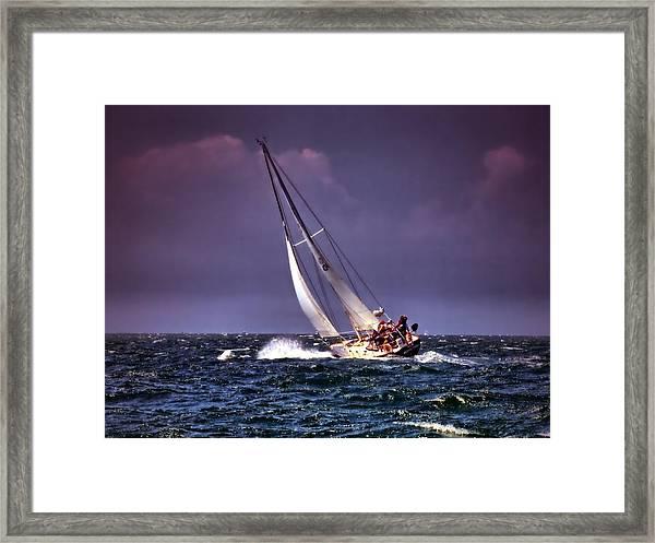 Sailing To Nantucket 001 Framed Print