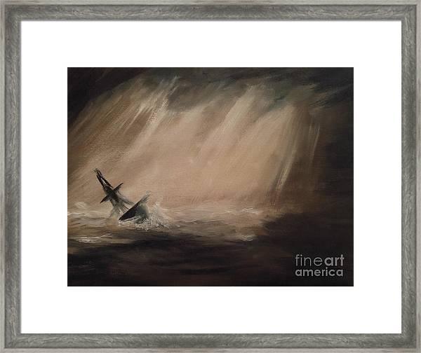Sailors Farewell Framed Print