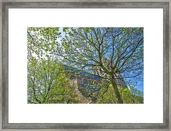 Saint Catharine's Church In Brielle Framed Print