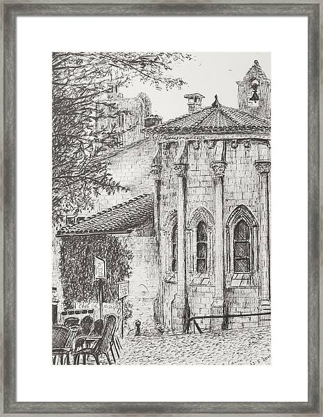 Saint-emilion Framed Print