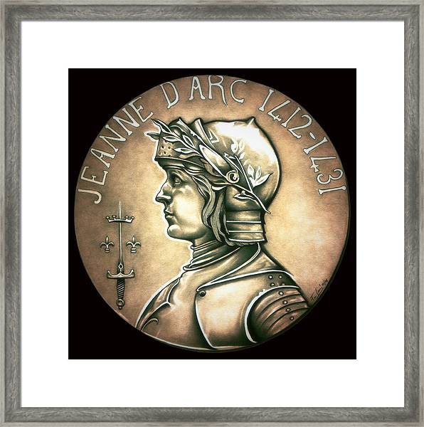 Saint Joan Of Arc Framed Print