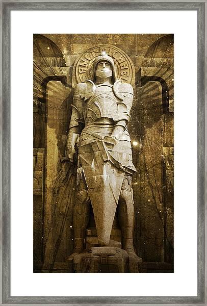 Saint Michael Framed Print