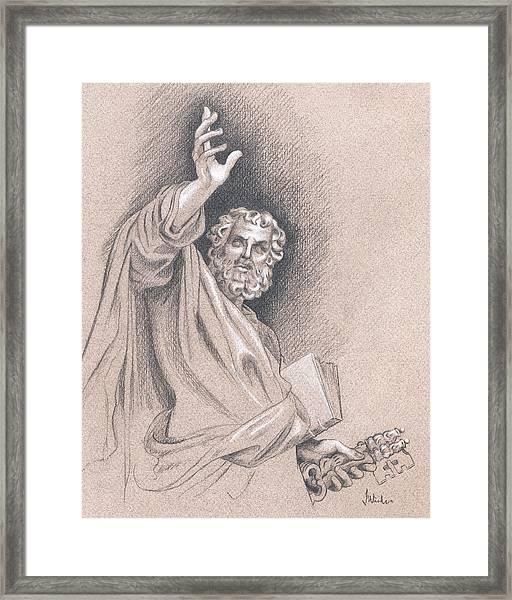 Saint Peter Framed Print