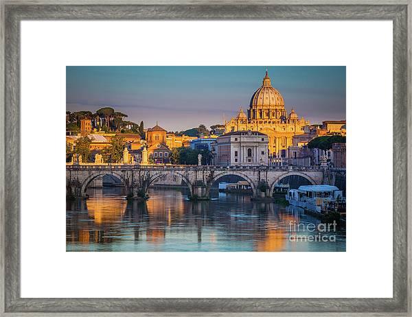 Saint Peters Basilica Framed Print