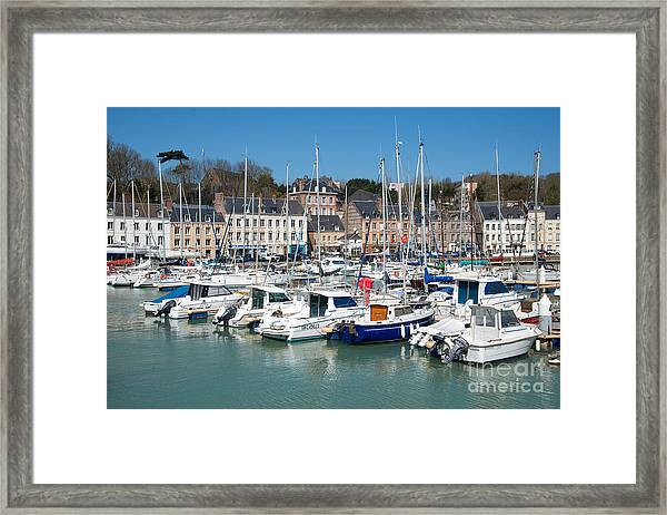 Saint Valery En Caux Framed Print