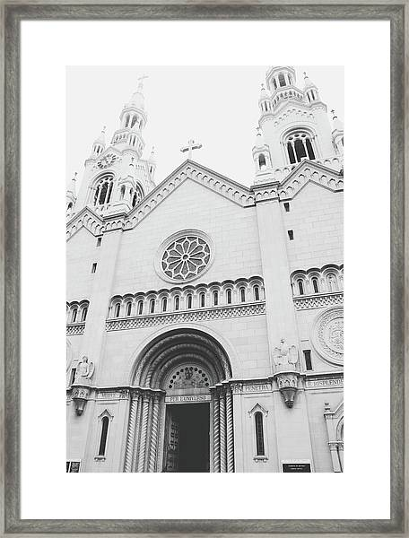 Saints Peter And Paul Church 2-  By Linda Woods Framed Print