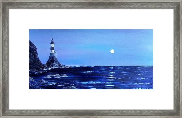 Sakhalin Lighthouse Framed Print