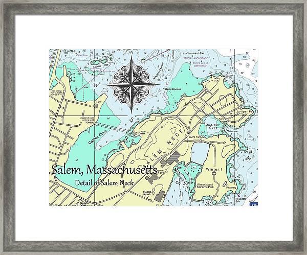Salem Neck Framed Print