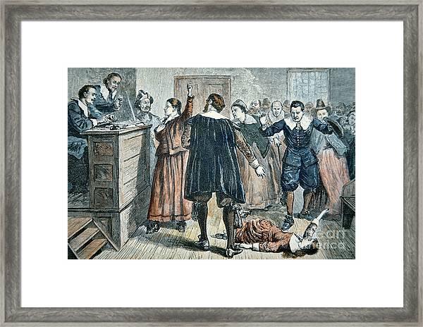 Salem Witch Trials Framed Print