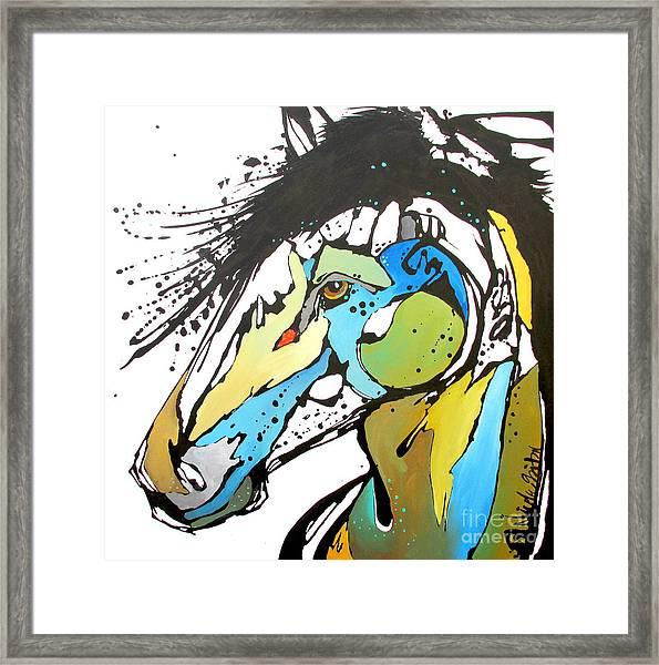 Sallie Framed Print