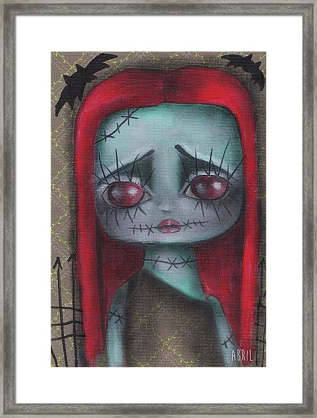 Sally Girl Framed Print