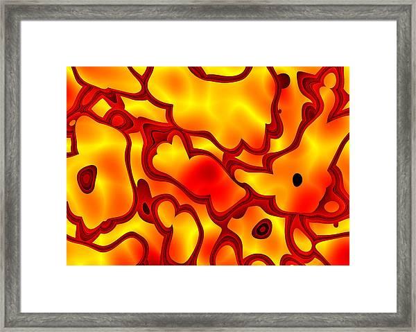 Salpornis Framed Print