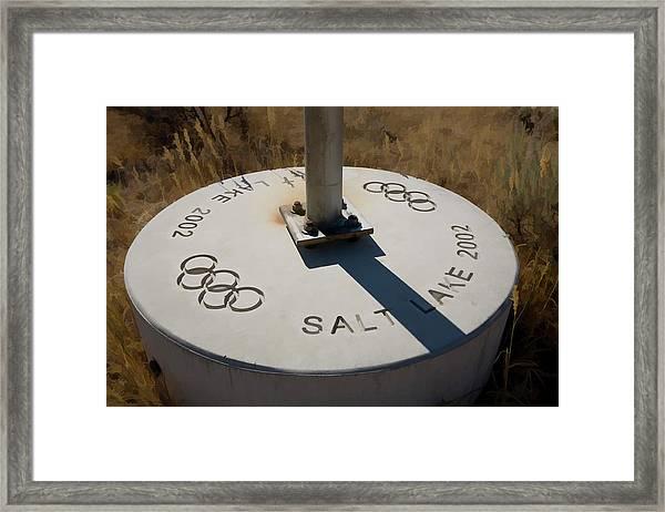 Salt Lake Olympics 2002 Framed Print