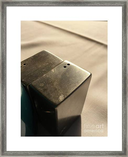Saltpepper Framed Print
