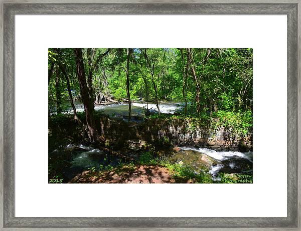 Saluda River Columbia Sc Framed Print
