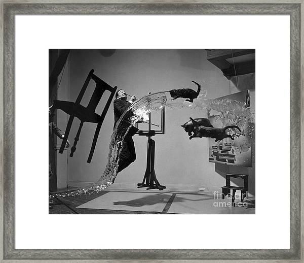 Salvador Dali 1904-1989 - To License For Professional Use Visit Granger.com Framed Print