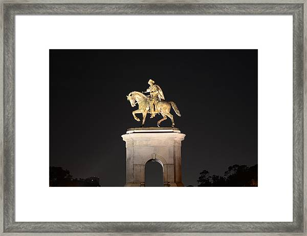 Sam Houston  Framed Print
