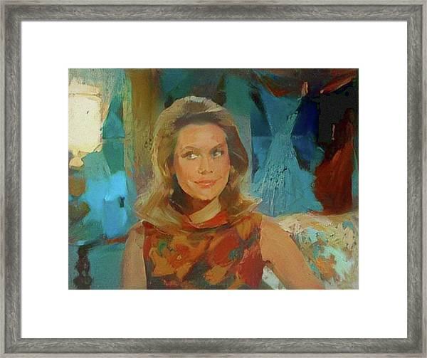 Samantha Framed Print